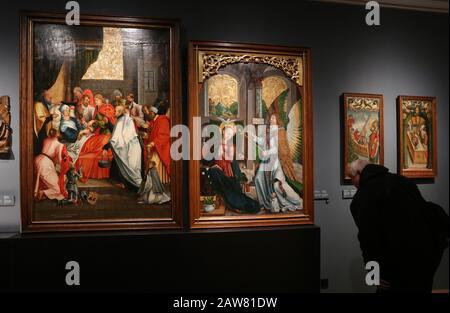 Krakauer. Krakow. Polen. Czartoryski Princes Museum Sammlung von schönen Künsten und historischen wertvollen Artefakten. - Stockfoto
