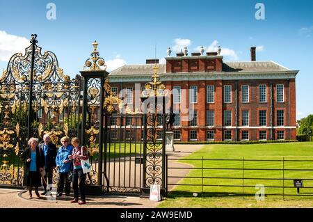 Kensington Palace, das Zuhause der jungen Royals.