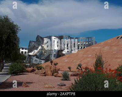 USA, Nevada, Clark County, Las Vegas, West Bonneville Avenue, Cleveland Clinic, Lou Ruvo Center for Brain Health - Stockfoto