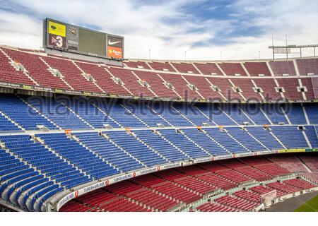 FC Barcelona (Nou Camp) Fußball-Stadion - Stockfoto