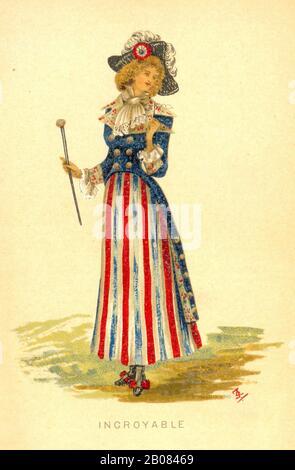 """""""Introyable"""" einer der Sets in der Serie """"Johann"""" von Fancy Costumes eine Give Away Karte Werbung """"Johann"""" Schmackhaftes Wasser im Jahr 1884er - Stockfoto"""
