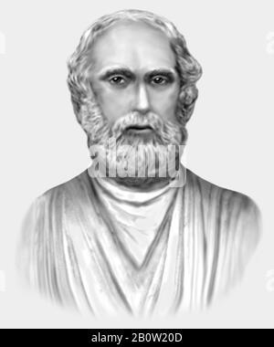 Platon c 428/427-348/347 v. Chr. griechische Philosoph - Stockfoto