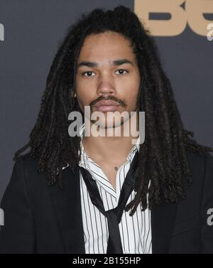Los Angeles, USA. Februar 2020. Luka Sabbat kommt am Samstag, 22. Februar 2020, zu den 51. NAACP Image Awards im Pasadena Civic Auditorium in Pasadena, CA. (Foto Von Sthanlee B. Mirador/Sipa USA) Kredit: SIPA USA/Alamy Live News - Stockfoto