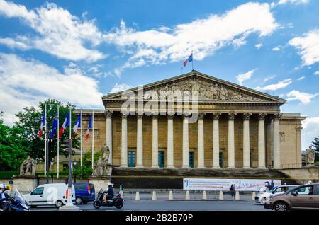 Paris ist mit mehr als 42 Millionen ausländischen Besuchern pro Jahr das beliebteste Touristenziel der Welt. - Stockfoto