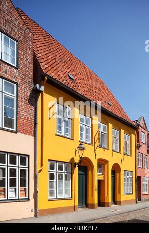 Von Hoeveln Gang, Lübeck, Schleswig-Holstein, Deutschland, Europa - Stockfoto