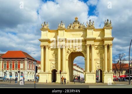 Brandenburger Tor in Potsdam, Deutschland - Stockfoto