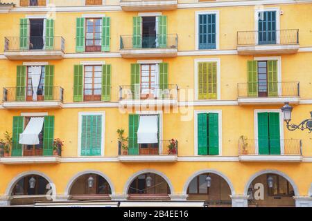 Großer Platz, Palma de Mallorca, Mallorca (Mallorca), Balearen, Spanien, Europa - Stockfoto