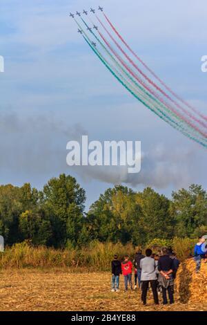 Flugzeuge der Milano Linate Airshow 2019 - Stockfoto
