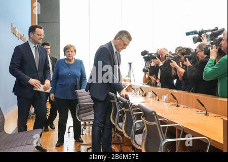 Pressemitteilung Merkel Live