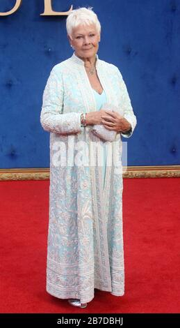 Sep 05, 2017 - London, England, Großbritannien - Victoria & Abdul UK Premiere, Odeon Leicester Square - Red Carpet Arrivals Photo Shows: Dame Judi Dench - Stockfoto