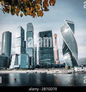 Stadt Moskau. International Business Center Moskau, Russland - Stockfoto