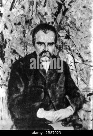 friedrich wilhelm nietzsche, im Jahre 1895 - Stockfoto