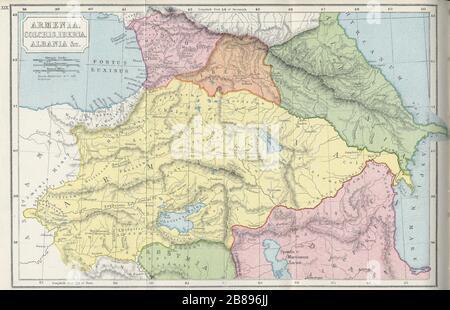Kolchis Iberia Albanien Armenien Etc Stockfotografie Alamy