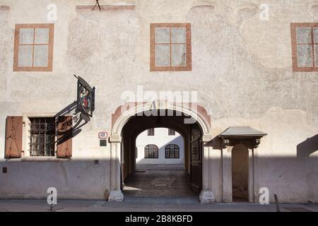 Zagreb, Kroatien - 24. Februar 2019: Stadtmuseum Zagreb - Stockfoto