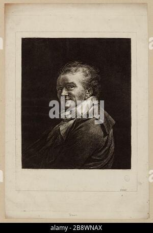 Dominique Vivant Baron Denon, sagte Vivant Denon oder Vivant Denon (1747-1825), Schriftsteller, Diplomat und französischer Verwalter. - Stockfoto