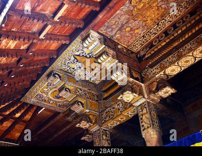 Tempel der Zahnrelika in Kandy, SR Lanka - Stockfoto