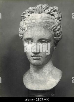 Leiter der Venus, griechische Marmorskulptur, Barracco Museum, Rom, Italien 1920er Jahre - Stockfoto