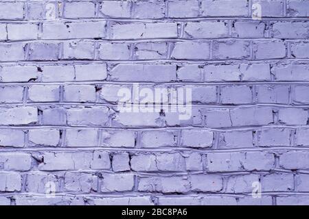 Backsteinwand in violetter Farbe, Hintergrund