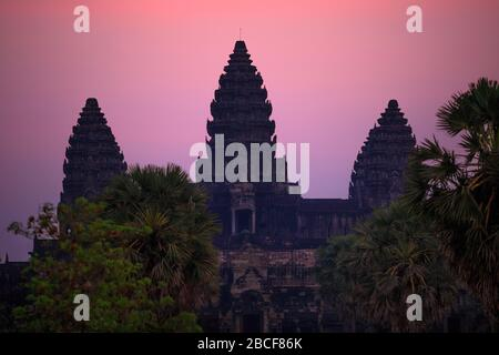 Angkor Wat kurz vor Sonnenaufgang