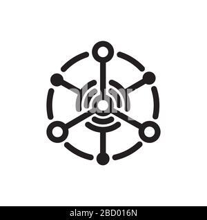 iot-Symbol (Internet der Dinge) - Stockfoto