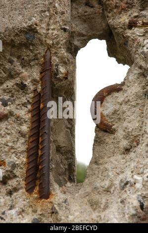 Berliner Mauer. - Stockfoto