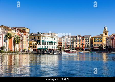 Loews Portofino Bay Hotel in Universal Orlando. - Stockfoto