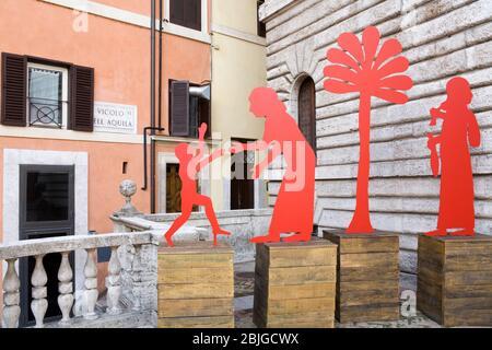 Barracco di Scultura Antica Museum in Rom, Italien, Europa - Stockfoto