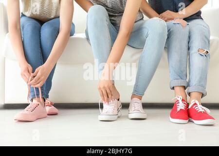 Füße Anbetung Jeans Lesbische Stefanie Hertel: