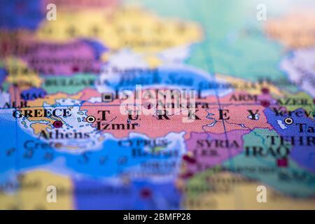 Grenze asien europa türkei