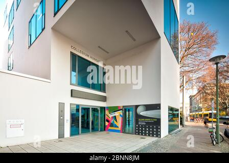 Collegium Hungaricum, Ungarisches Kulturinstitut, Kulturzentrum, Hausfassade, Berlin Mitte, Berlin, Deutschland - Stockfoto