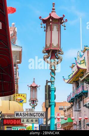 Chinatown, San Francisco, Kalifornien, USA - Stockfoto