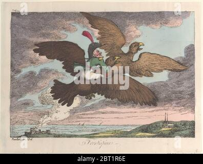 Frontispiz, [1809], neu aufgelegt 1811. - Stockfoto