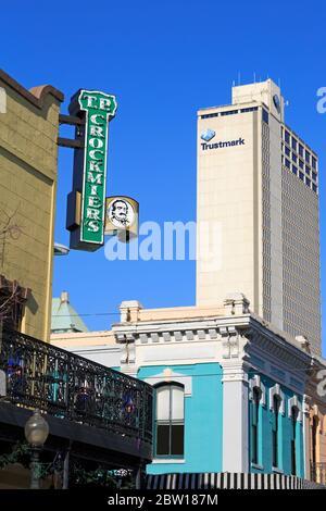 Dauphin Street, Mobile, Alabama, USA - Stockfoto