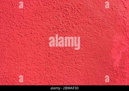 Rote raue Wand Stuckstruktur