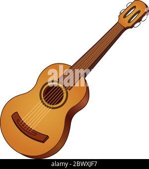 E-Gitarre-Symbol - Vektorgrafik