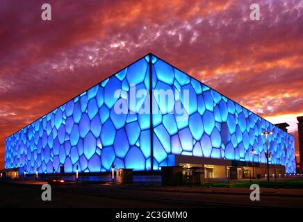 Das nationale Aquatikzentrum von Peking