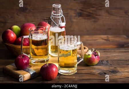 Apfelwein - Stockfoto