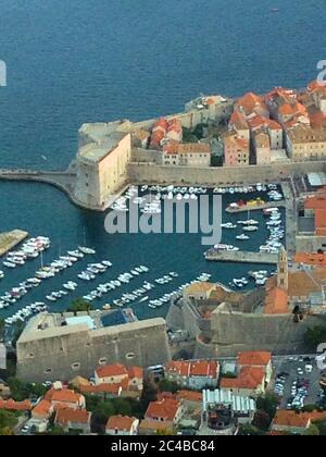 Dubrovnik Übersicht Stockfoto