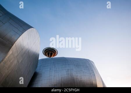 Museum für Popkultur in Seattle, Washington - Stockfoto