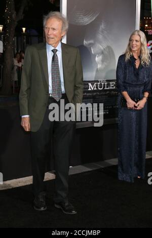 LOS ANGELES - DEZ 10: Clint Eastwood bei der Mule-Weltpremiere im Village Theatre am 10. Dezember 2018 in Westwood, CA