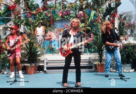 ZDF Fernsehgarten, Sonntag-Unterhaltungsshow, Sendung vom 3. Juli 1994, Gaststar: Band Smokie