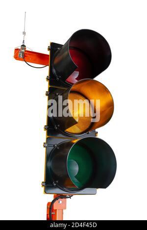 Detail des Verkehrssignals - Stockfoto