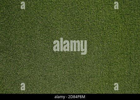 Green Grass Textur Hintergrund, Ansicht von oben Gras ideales Konzept für die Herstellung von grünen Bodenbelag verwendet, Rasen für ein Training Fußballplatz, Grass Golfplätze