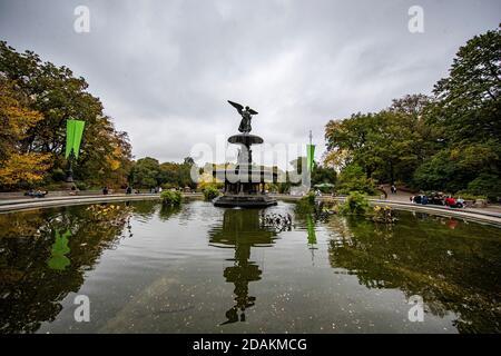 Der Bethesda-Brunnen im Central Park, New York City