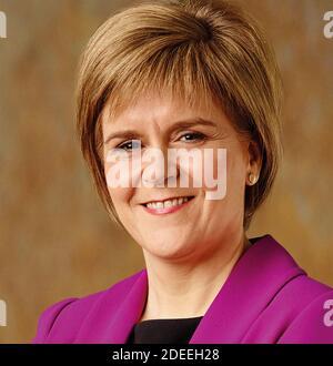 NICOLA STÖR schottische Politiker als erster Minister von Schottland in 2020