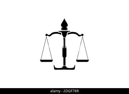 Anwaltskanzlei Logo Design Vorlage