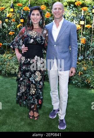 PACIFIC PALISADES, LOS ANGELES, KALIFORNIEN, USA - 05. OKTOBER: Vanessa Kay kommt am 10th Annual Veuve Clicquot Polo Classic Los Angeles im will Rogers State Historic Park am 5. Oktober 2019 in Pacific Palisades, Los Angeles, Kalifornien, USA. (Foto: Xavier Collin/Image Press Agency/Sipa USA)