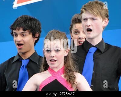 Noch eine Träne! - Konzert auf dem Trafalgar Square 1 Jahr vor den Olympischen Spielen 2012, London, Großbritannien
