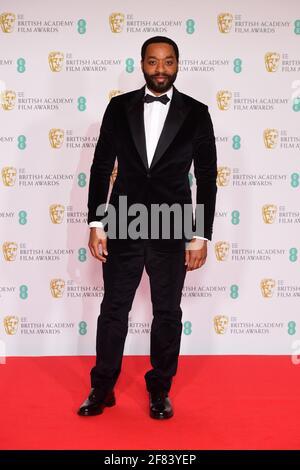 Chiwetel Ejiofor kommt für die EE BAFTA Film Awards in der Royal Albert Hall in London an. Bilddatum: Sonntag, 11. April 2021. Stockfoto