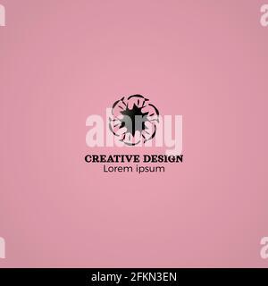 Abstract Einfaches Company Creative Logo Design
